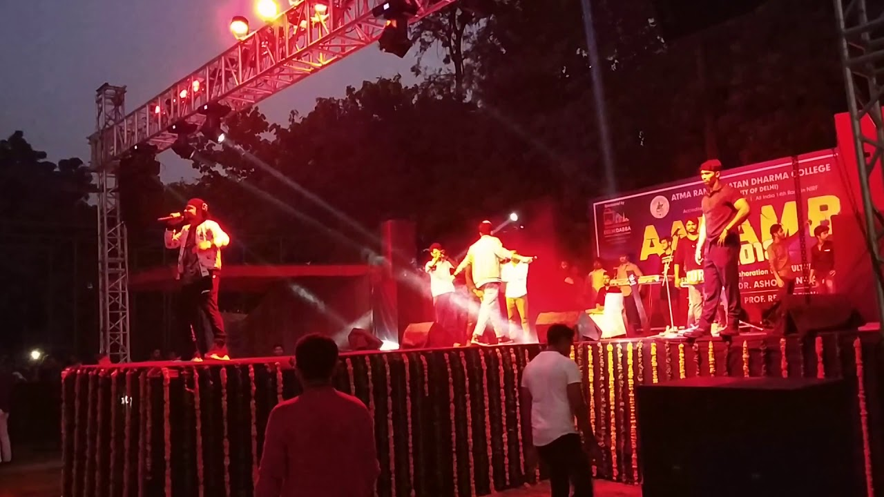 MD & KD in Arsd college Freshers 2018