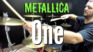 Repeat youtube video Metallica - One - Drum Cover