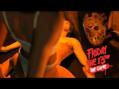 ГОЛУБКИ В ПАЛАТКЕ | ПЯТНИЦА 13 СЮЖЕТНЫЙ РЕЖИМ | Friday The 13th: The Game