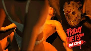 ГОЛУБКИ В ПАЛАТКЕ | ПЯТНИЦА 13 СЮЖЕТНЫЙ РЕЖИМ | Friday the 13th: The Game