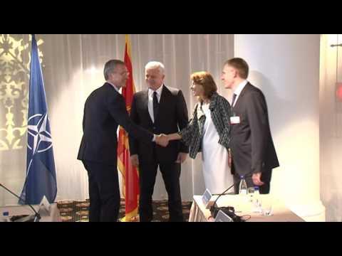 NATO Jens Stoltenberg, Duško Marković, Igor Lukšić, Milica Pejanović Đurišić