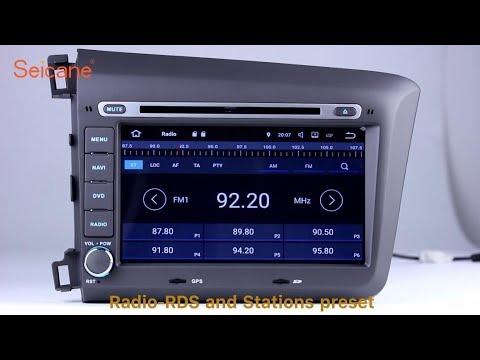 aftermarket radio 2012 honda civic dvd gps navigation. Black Bedroom Furniture Sets. Home Design Ideas