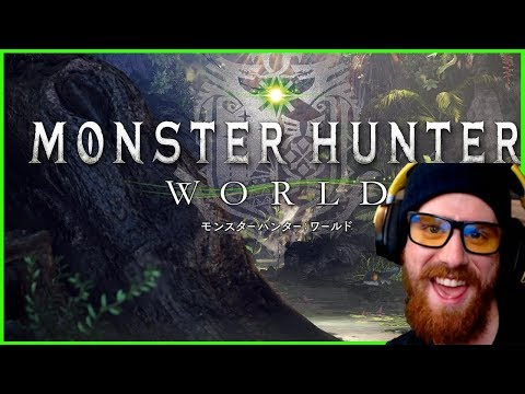 Monster Hunter World Gameplay Part 1 | 24 Hour Stream - 100 Sponsors on YouTube Gaming!