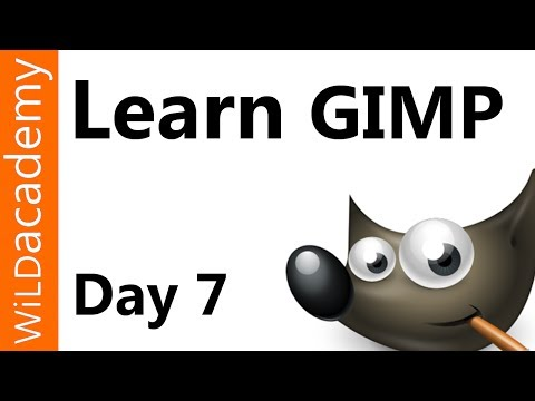 Learn GIMP Tutorial - Day 7 - How To Draw A Straight Line In Gimp