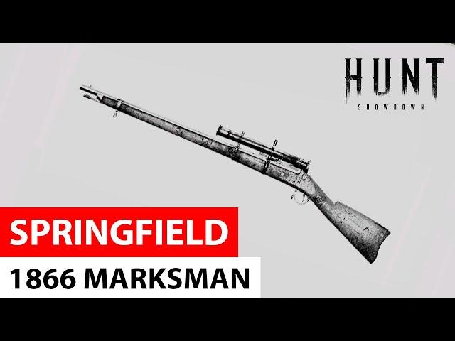 Springfield 1866 Marksman in Hunt: Showdown