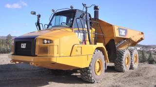 Introducing the Cat 730C Articulated Truck