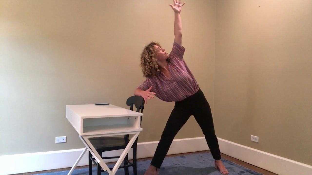 UYTT - 17 Minute Desk + Chair Yoga Class
