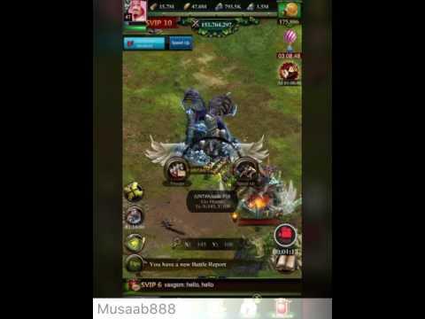 Clash of kings ( Mineral vein ) Musaab_888 vs kingdom 2