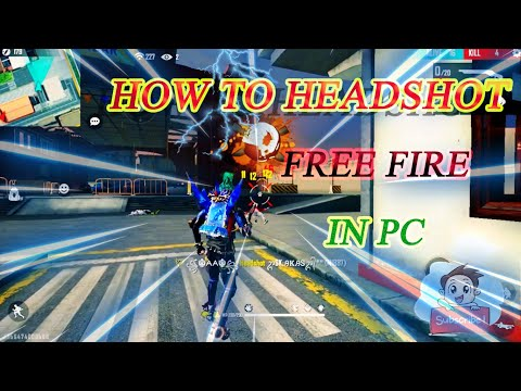 how to headshot free fire in pc [GAME ON YT] thumbnail