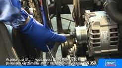 SKF Laturin vapaapyörä (OAP) VKM 03107 VW PASSAT
