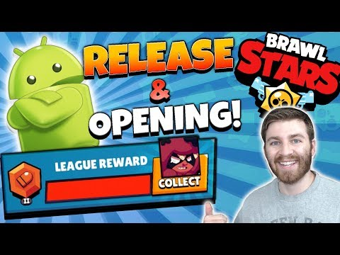 OPENING ALL MY LEAGUE REWARDS & ANDROID RELEASE! | Brawl Stars | DOWNLOAD APK LINK & BIG BOX OPENING