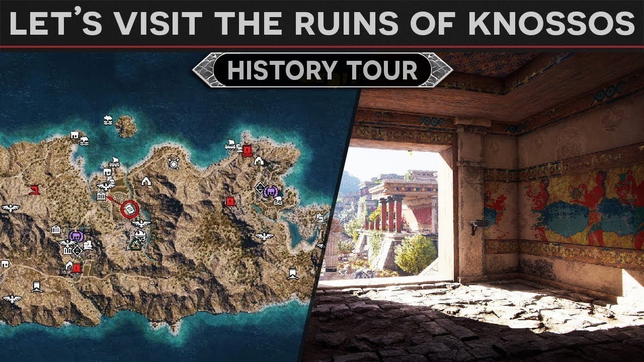 Assassin S Creed Odyssey Exploring Ancient Knossos Ancient