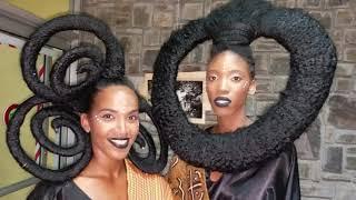 Martinique: Défilé de coiffures ancestrales par Séphora Joannes (23 mars 2019)