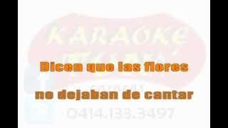 KARAOKE Juan Luis Guerra - Mi bendicion