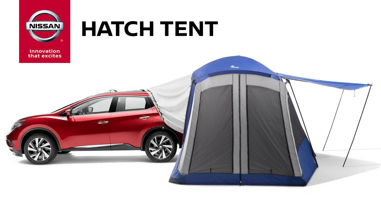 Nissan Murano 2017 Red >> Hatch Tent | Genuine Nissan Accessories - YouTube