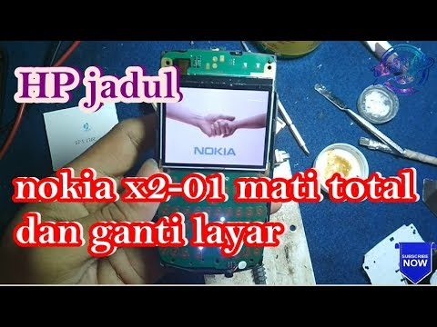 Servis HP Nokia X2 01 konslet parah Failed 100% Tonton Video lainnya ya sob.... TEKNISI NDESO....