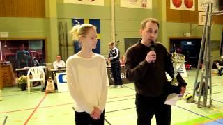 Josephine Ambjörnsson tar emot Värnamo Nyheters idrottspris