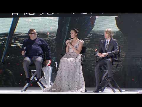 "Transformers: The Last Knight: Laura Haddock ""Viviane Wembly"" China Premiere"