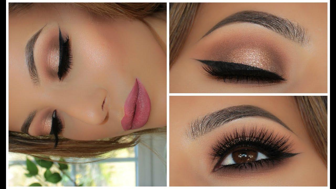Soft smokey glitter eye full face tutorial amys makeup box soft smokey glitter eye full face tutorial amys makeup box youtube baditri Images