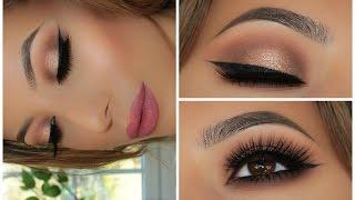 Soft Smokey Glitter Eye | Full Face Tutorial | Amys Makeup Box