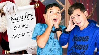 WE ARE ON THE NAUGHTY LIST!!??