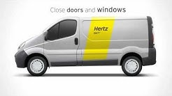 Hertz 24/7: Vehicle instructions