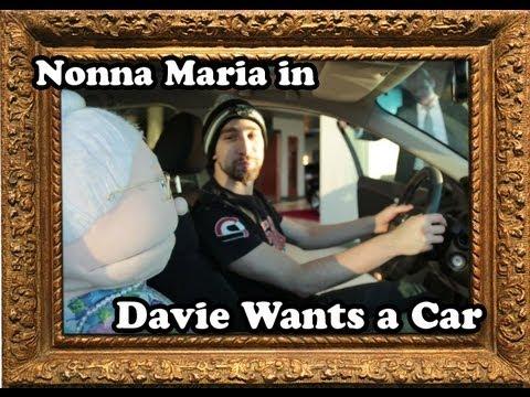 Nonna Maria in: Davie Wants a Car