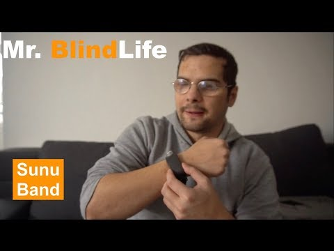 Sunu Band Smartwatch Erkennt Hindernisse - Mr. BlindLife