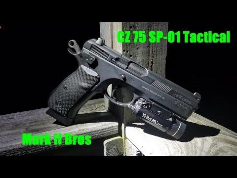 CZ 75 SP-01 Tactical Review