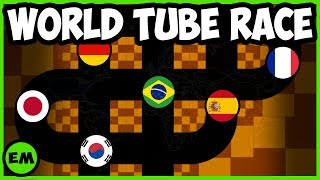Today is the Country Tube Marble Race Tournament to start 2019. Thi...