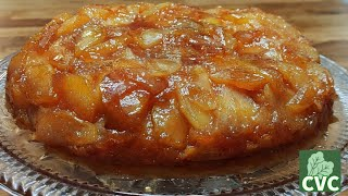 Apple Skillet Cake, You will Love this with Ice Cream! CVC's Holiday Series