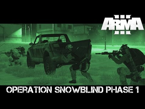 Operation Snowblind Phase 1 - ArmA 3 Delta Force Gameplay