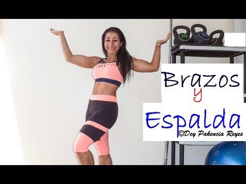 Adelgazar brazos y espalda | Rutina 575 | Eliminar grasa de brazos y espalda - Dey Palencia Reyes