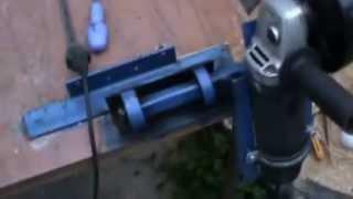 самодельный трубогиб для профильной трубы(трубогиб для профильной трубы самодельный., 2014-09-09T08:17:40.000Z)