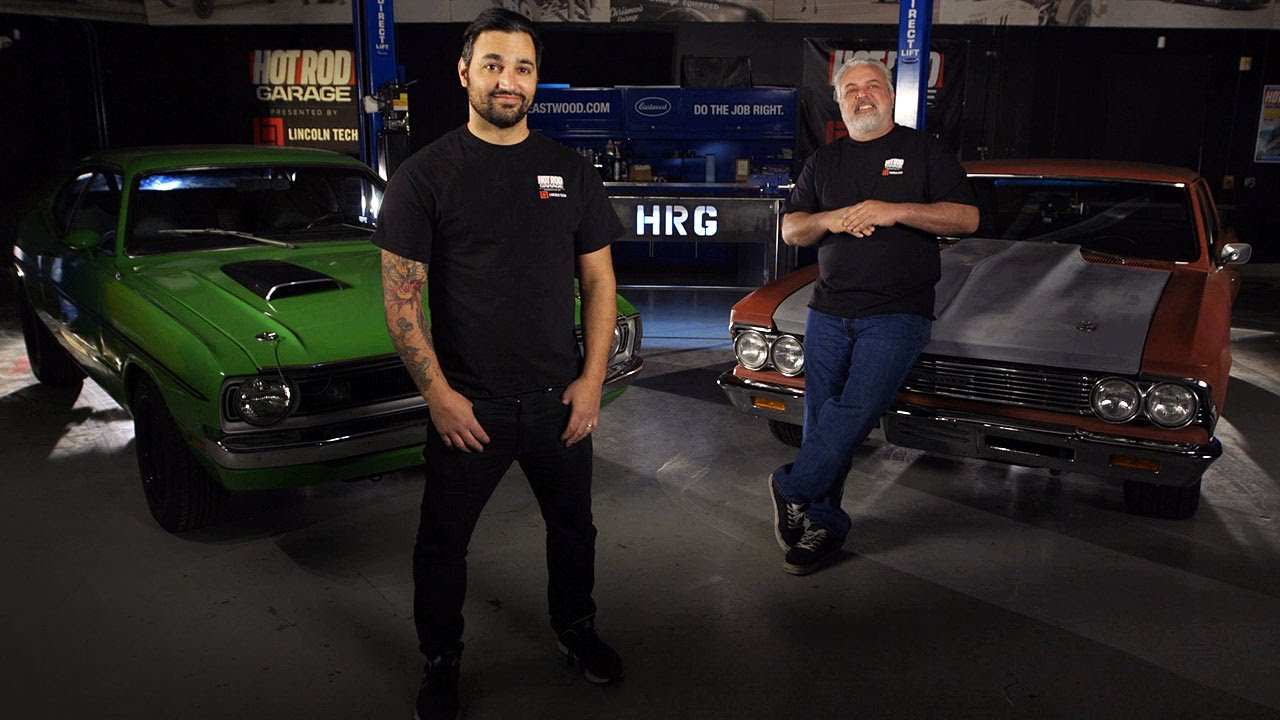 Hot rod garage on the motor trend channel youtube for How to watch motors tv online