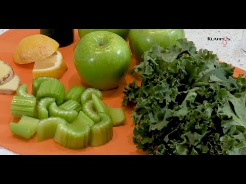 Green Juice Recipe - Kuvings Evolution Cold Press Slow Juicer EVO820