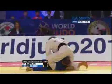 Paula pareto la peque! campeona del mundo 2015