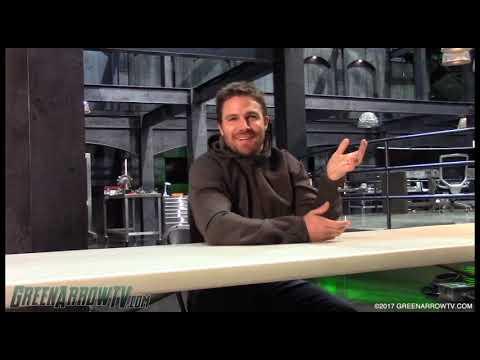 Stephen Amell On OTA Vs. The Newbies | Arrow Season 6 On Set
