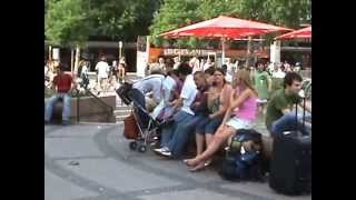 Life in City Center Berlin Germany(This video is all about life in city centre in Berlin. You can see how many activities are happening at a same time in a single centre, People are walking, shopping ..., 2015-03-22T07:23:03.000Z)