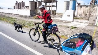Bicycle Touring With Your Daughter And Dog