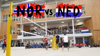Brouwer/Meeuwsen (NED) vs Mol.H/Sørum (NOR) Exhibition Match @ ToppVolley Norway