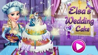 Elsa's Wedding Cake-frozen-chocolate Wedding Cake