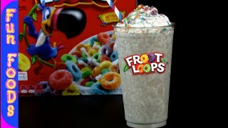 Froot Loops Milkshake   How to Make a Homemade Milkshake thumbnail