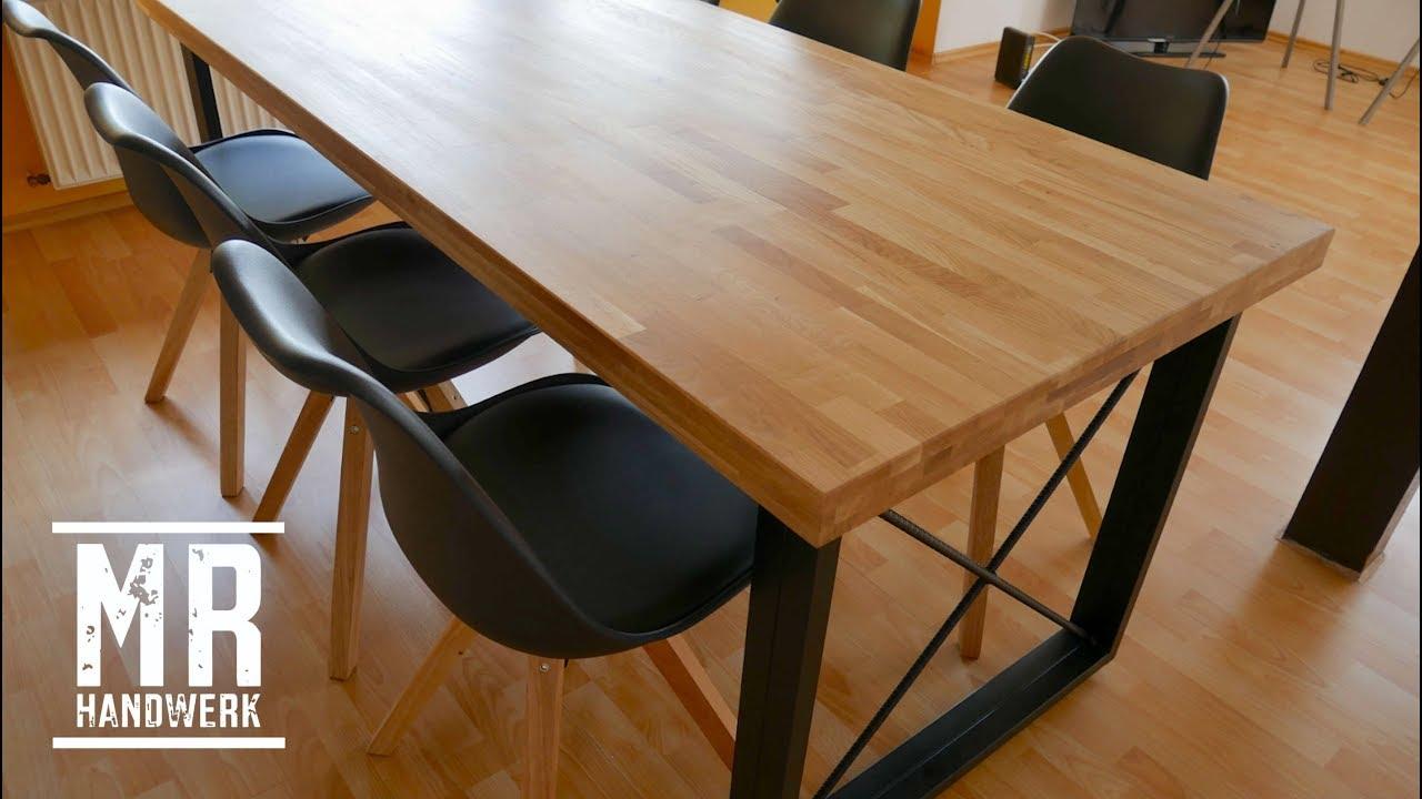 1 2 designer tisch selber bauen ausf hrliche anleitung youtube. Black Bedroom Furniture Sets. Home Design Ideas