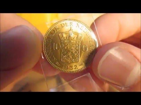 Provident Unboxing: Netherlands Gold 10 Gulden Coin