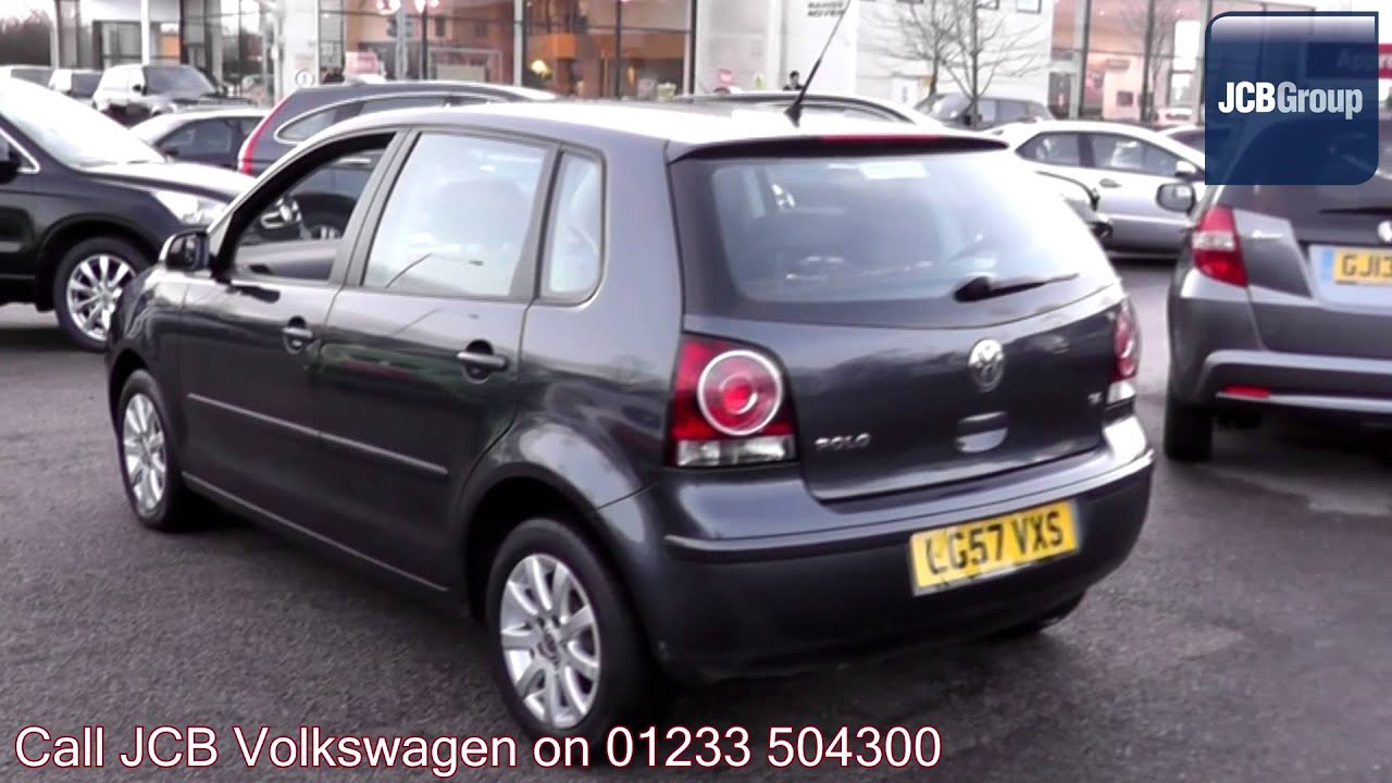 2007 Volkswagen Polo Hatch Se 1 4l Grey Anthracite
