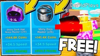 HOW TO GET FREE SHINY NINJA PETS IN MAGNET SIMULATOR! Roblox