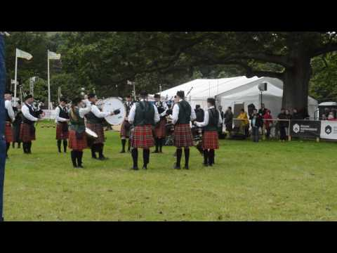 Harry Ferguson Pipe Band Co  Antrim Championships