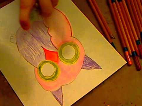 A QUICK FOLK ART OWL
