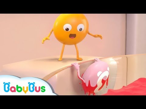 Thumbnail: Colored Candy's Falling into Water | Colored Chocolates Turn White | Kids Song | BabyBus